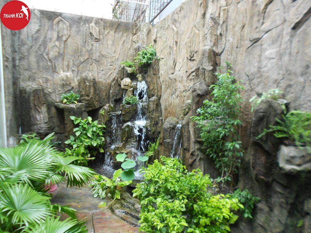 Đơn vị thi công tiểu cảnh thác nước nhanh chóng giá rẻ tại tphcm